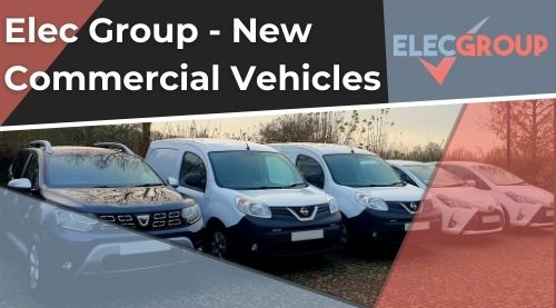 New commercial vehicles lined up