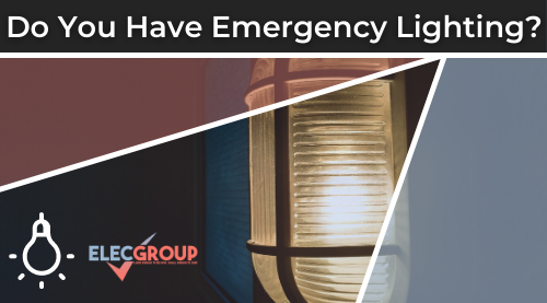 Emergency light on
