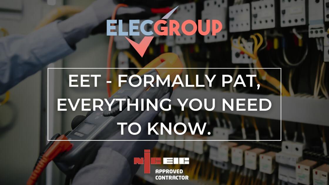 Electrical equipment testing pat testing