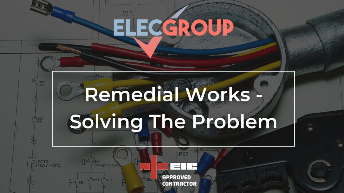 remedial works